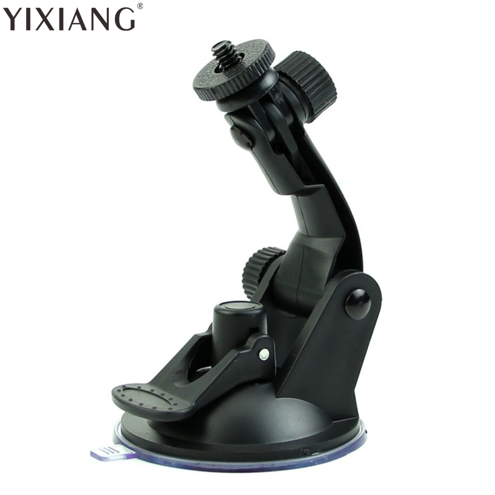 YIXIANG Black Car holder for Sport DV sport camera SJ4000 SJ5000 SJ6000 window mount DVR holders Driving recorder suction cup