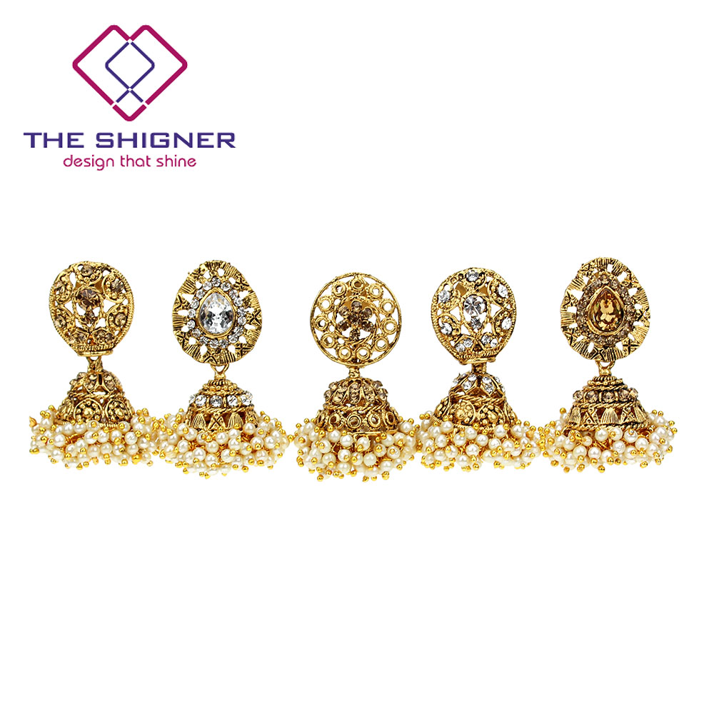 Detail Feedback Questions about THE SHIGNER Indian Tradition Jewelry ... a155882b5b35