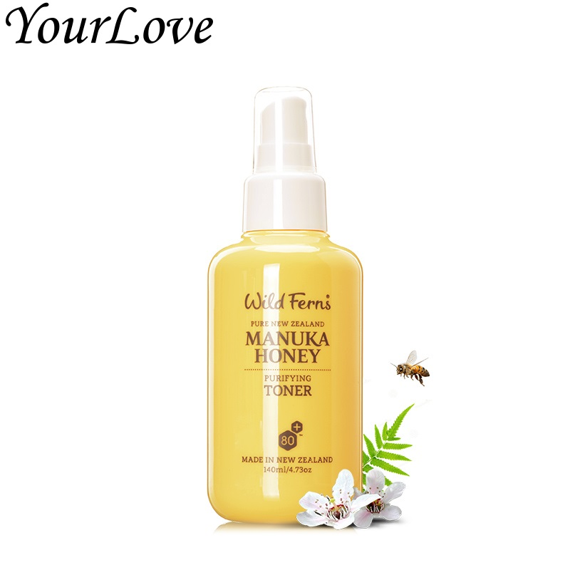 ФОТО Original NewZealand Parrs Manuka Honey Purifying natural Toner Remove remaining traces of oil makeup dirt Eliminate impurities