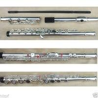 New flute 17 hole Open Silver C key Advance Model #7