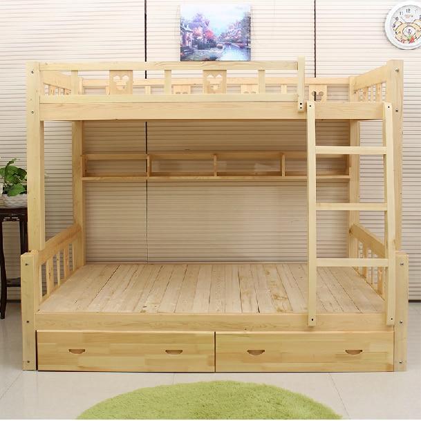 Literas madera litera matrimonial individual y ropero madera literas madera ventajas de las - Literas de pino ...