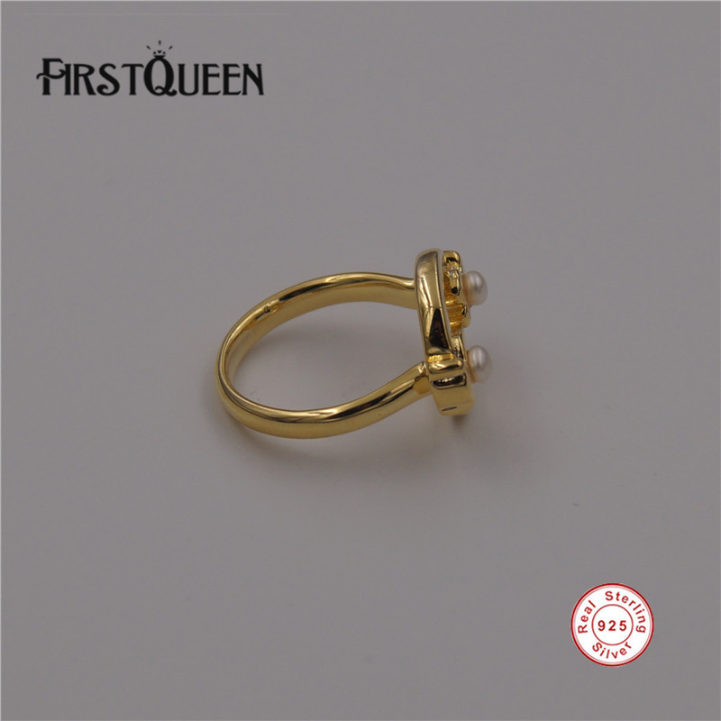 FirstQueen High Quality Brand Animal Rings For Women Wedding Sterling Silver 925 Factory Wholesale