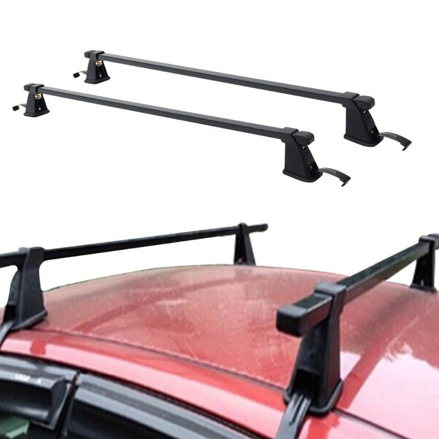 Superbe 120cm 48inch Car Roof Rack Cross Bar Car Top Roof Adjustable Cross Bars  Crossbars Luggage Cargo