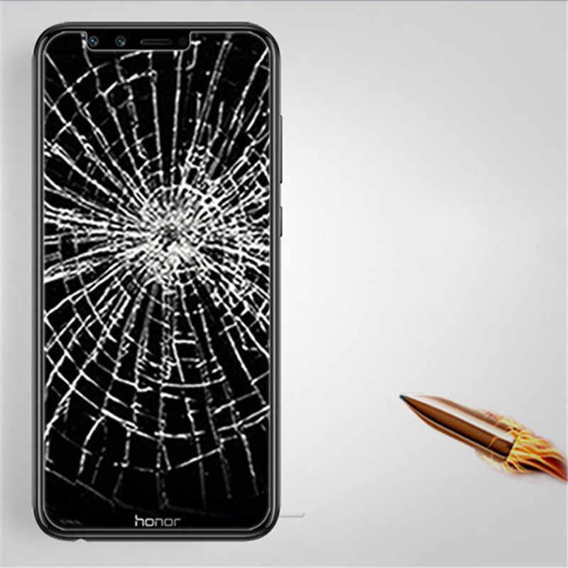 Tempered Glass đối với Huawei Trên Honor 8 9 10 lite 8X 7A Pro DUA-L22 Bảo Vệ Màn Hình Y6 Y5 Y9 2018 thủ Kính Bảo Vệ Phim