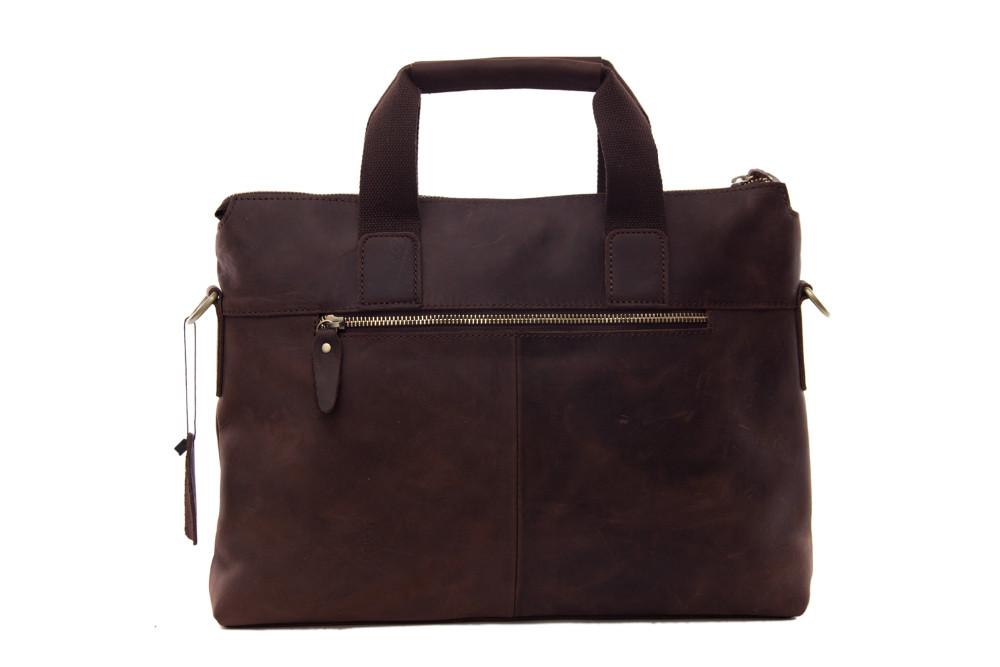 95e7c153e8549 ROCKCOW Antique Style Genuine Leather Mens Briefcase Messenger Bag ...