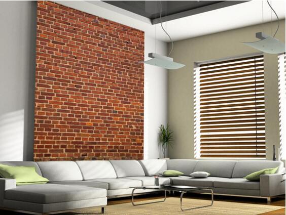 custom retro wallpaper brick wall distressed 3d wallpaper murals for