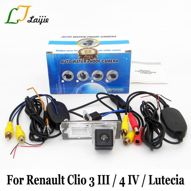 Laijie Auto Drahtlose Rückfahrkamera Für Renault Clio 3 4 III IV ...