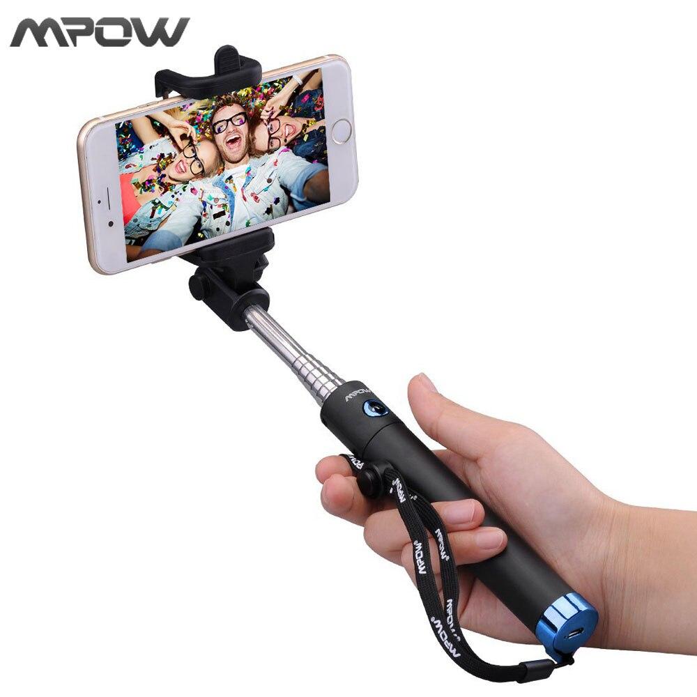 MBT8 New Version Mpow iSnap X U Shape Pro Tripod Monopod Selfie Stick Bluetooth Remote Control