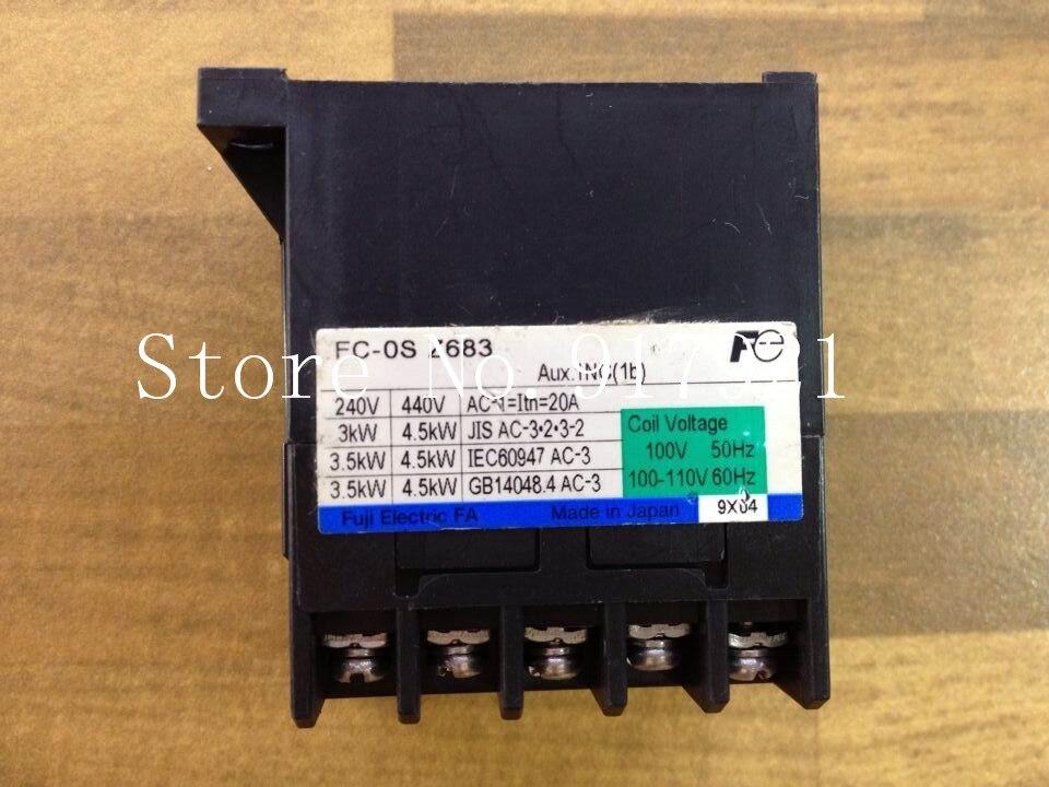 [ZOB] Fe FC-OS-Z683 110VAC 20A contactor contactor Fuji Elevator genuine original --2pcs/lot