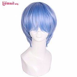 L-email-wig-Hot-Sale-Men-Cosplay-Wigs-33cm-Short-Light-Blue-Anime-Evangelion-Ayanami-Rei