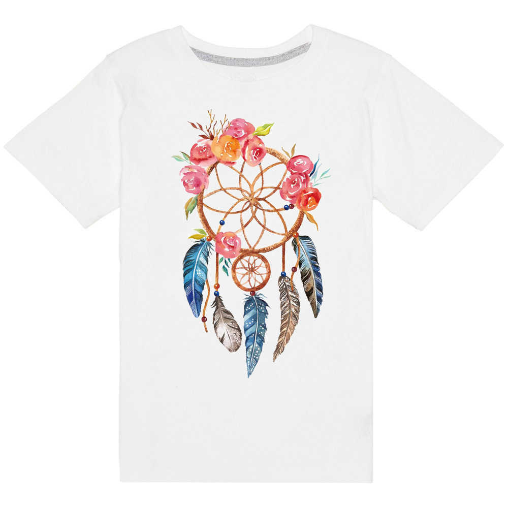 Washable diy dream catcher patch t shirt press heat transfer sticker a level iron