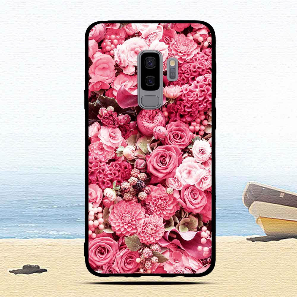 Case For Samsung Galaxy S9 Plus S 9 + Soft TPU Slicone Cover For Samsung S9+ S9plus Cat Colorful Protective Phone Cases Coque