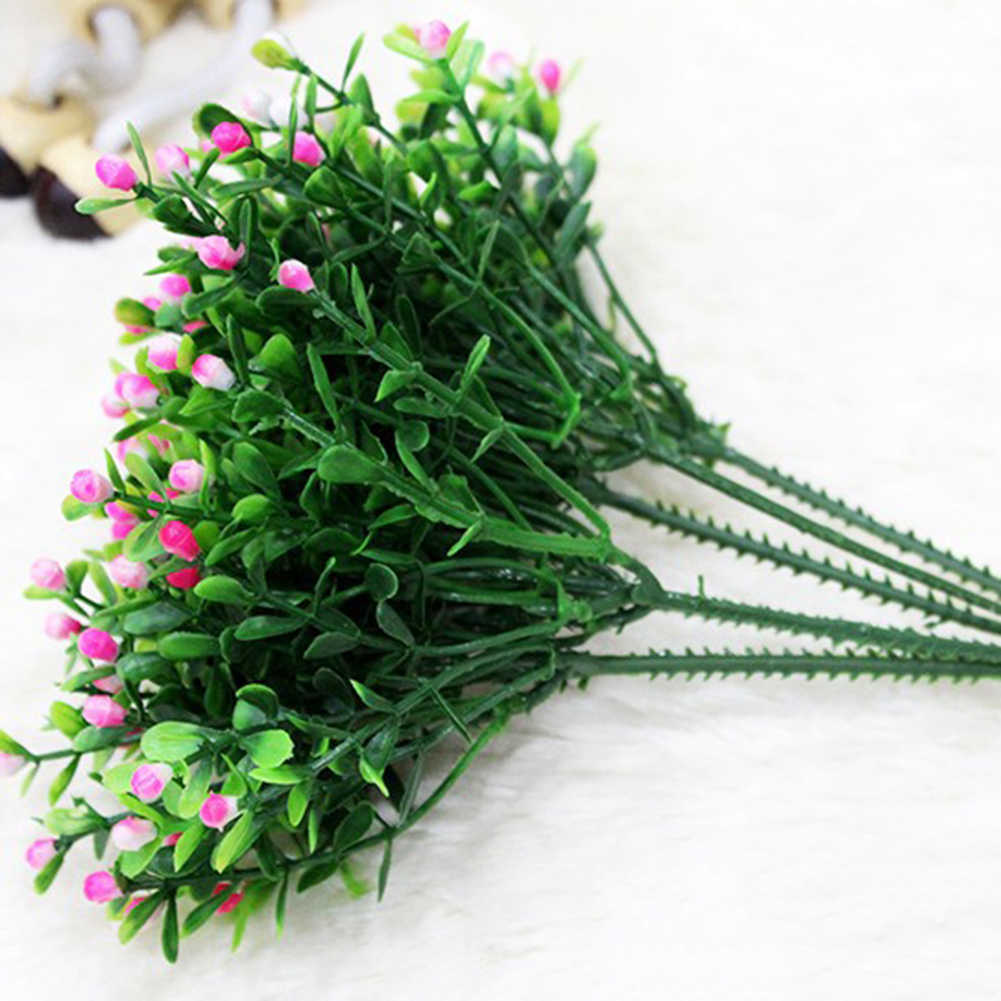 Venda quente! 15 cabeças/1 buquê artificial aglaia odorata flores casa decoração festa de casamento decorações artificiais casa & jardim