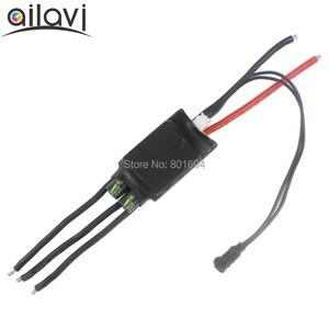 12V 7-24V Button Control 3 phase Brushless Driver PLC 0-5V Analog Quantity Signal BLDC Brushless ESC Gas Pump Fan speed Control(China)