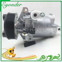 CR10 Auto AC A/C Air Conditioning Compressor Pulley PV7 for Nissan Tiida Livina 2008 2009 2010 2011 92600 ET00A 92600 1JY7A
