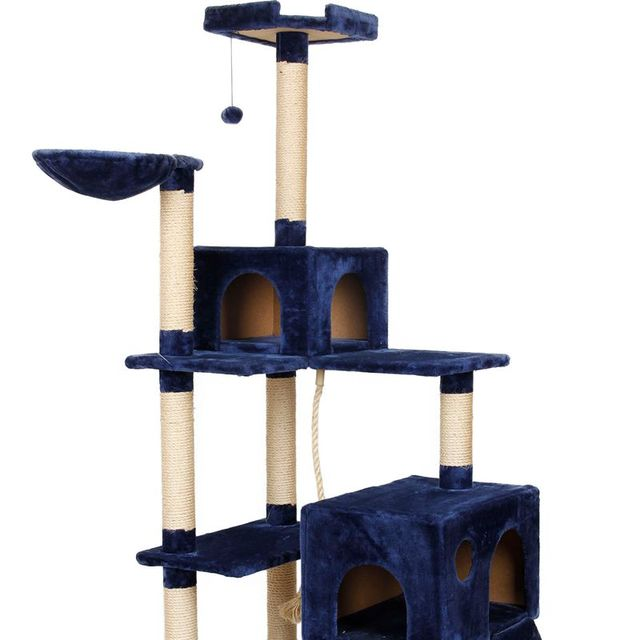 Pet Frame Scratching Post Kitten House Staircase Cat For Fun Suitable Cat Playing Training Cat Tree Pet Product Wholesale