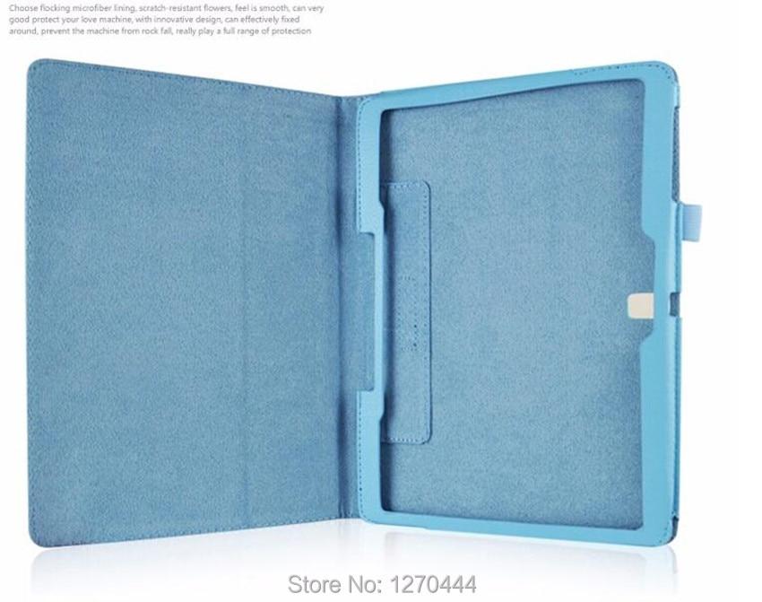 Samsungi Tab S 10.5 Litchi nahk Nahast seinakindlad kaitseümbrised - Tahvelarvutite tarvikud - Foto 5