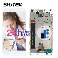 Srjtek For Xiaomi Mi Note 4 Note4 LCD Display Matrix Touch Screen Digitizer Full Assembly 5