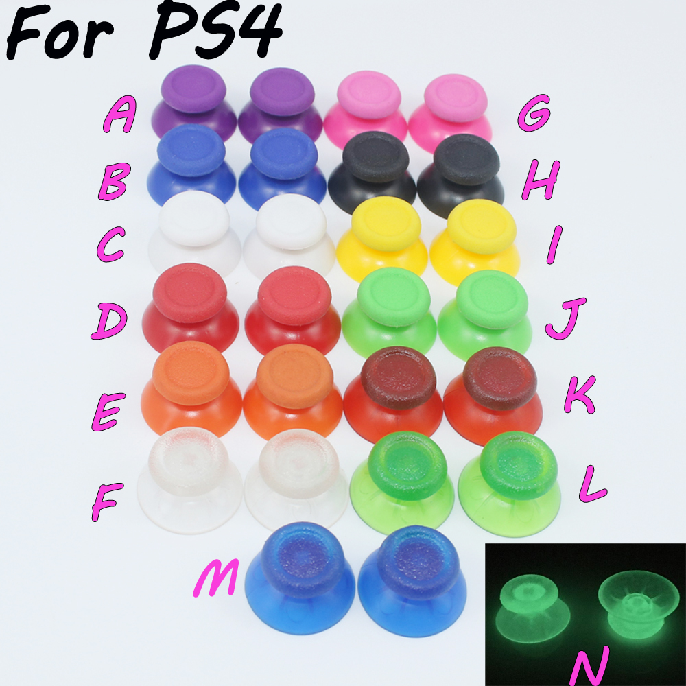 14Colors Analog Stick for PlayStation 4 PS4 Pro Slim Controller Analogue Thumbsticks for Dualshock 4 Control Joystick
