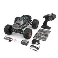 9125 4WD 1/10 High Speed RC Car Electric Supersonic Truck Off Road Vehicle Buggy RC Crawler Electronic Toy RTR forChildren Gift