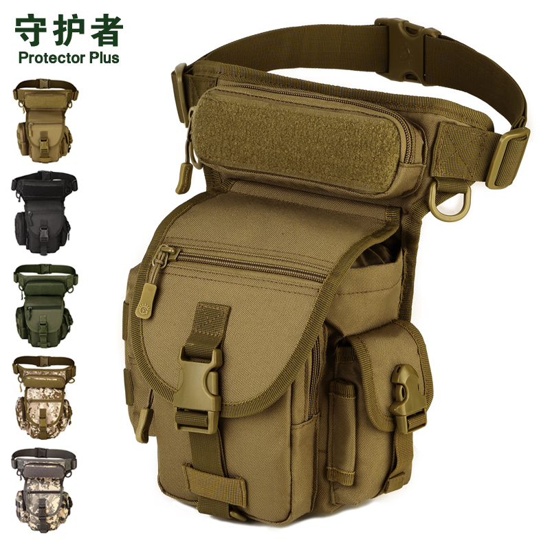 Nylon Waist Bag Outdoor Sport Tactical Drop Leg Utility Pouch Shooting Hunting Bags Holsters jinjuli nylon tactical pouch