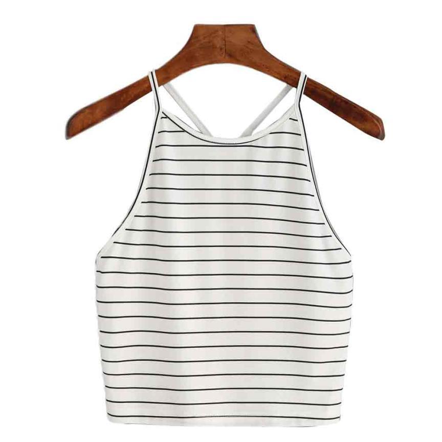 snowshine YLW Women Fashion Sexy Striped   Tank     Top   Sleeveless T-Shirt   Tops   free shipping