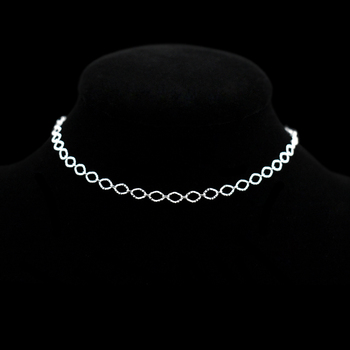 New Fashion Exquisite Small Egg Shaped Ankle Chains 925 Sterling Silver Simple Chain Anklets For Women Jewelry Anklet Bracelet 4