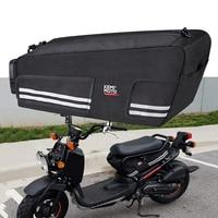 KEMiMOTO For Honda Ruckus Zoomer 2010 2019 Bag Under Seat Cargo Storage Bag Luggage Motorcycle Rear Back Seat Bags Waterproof