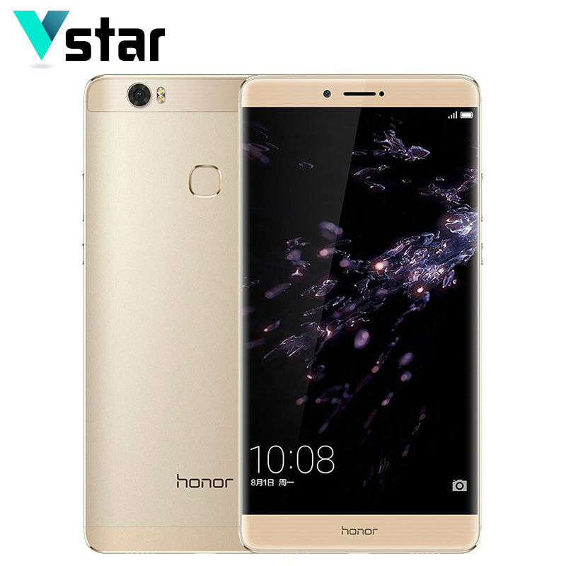 6.6 Inch Huawei Honor Note 8 Android 6.0 13.0MP 4GB Cell Phone Kirin 955 Octa Core 128/64/32GB ROM 2K Screen Quick Charger