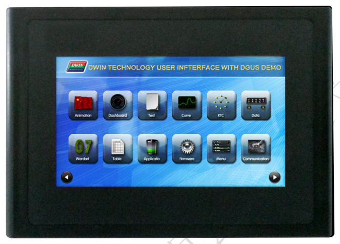Dmt48270c043_15wt 4.3 inch dwin dgus ii tela de toque resistive hmi|Painéis e LCDs p/ tablet| |  -