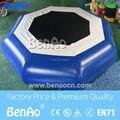 W024 DHL Бесплатная Доставка 0.6 мм-0.9 мм пвх Надувной Батут/Надувные Водные Прыжки Батут/Вода прыжки кровать