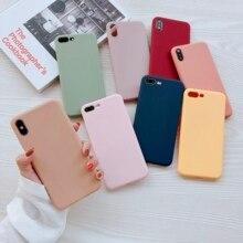 Pianura Caramelle Colorate Colore Coque per iPhone X Abstract Graffiti Cassa Del Telefono per il iphone X 10 iPhone 6 6S 8 7 Più xs max xr