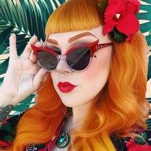 OFIR Novo Pequeno Gato Olho Óculos De Sol Das Mulheres 2018 Marca Designer  de Alta Qualidade 7d9ee59e08