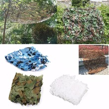 Camouflage Netting 2X2m Hunting Military Woodland Digital Hunting Car CoveringTent Camping Jungle Leaves Net Mesh Sun Shelter 4x4m military camouflage net digital camouflage neting woodlands leaves for military hunting campingcar drop netting