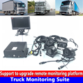 HD Подлинная 256G sd-карта PAL/NTSC система местного управления PTZ грузовик мониторинга комплект пожарная машина/такси/внедорожный автомобиль