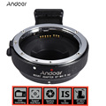 Andoer EF-MFT Auto Focus AF Electronic Lens Adapter Ring for Canon EOS EF/EF-S Lens to use for Olympus Panasonic M4/3 Camera