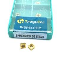 cnc cnc חותך SPMG050204 DG TT8020 קרביד taegutec הכנס מחרטה מגרסה פלדה חותך U-תרגיל חותך CNC חותך U-תרגיל (1)