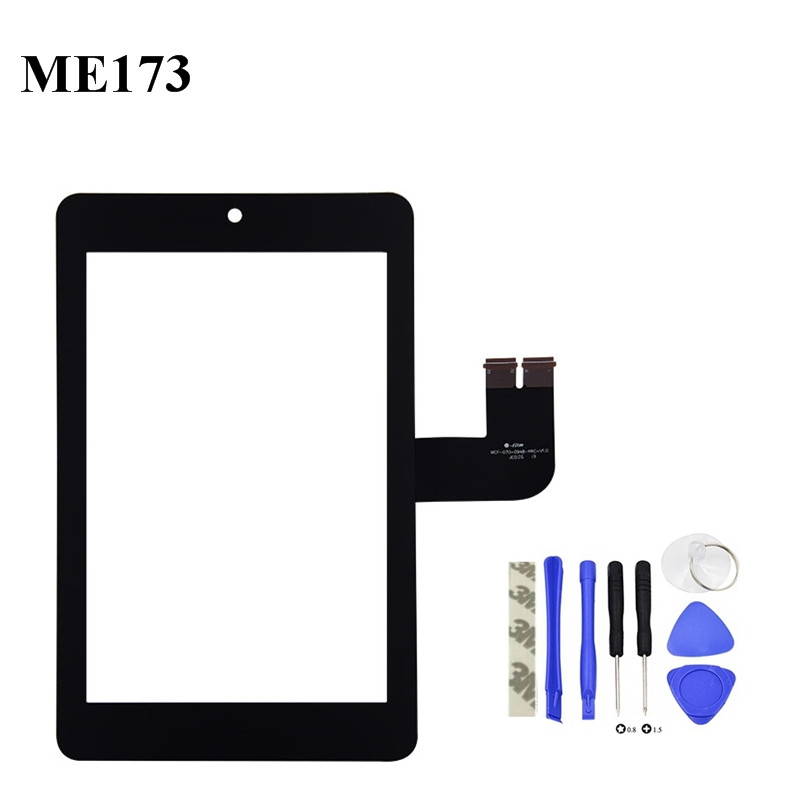 7.0inch Black For Asus Memo Pad HD ME173 ME173X Touch Screen Digitizer Glass Lens Replacement tchernov cable special xs sc sp bn 1 65 m