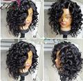 7A Curly Bob Wigs Glueless Full Lace Human Hair Wigs Short Human Hair Lace Front Wigs Black Women Brazilian Bob Human Hair Wigs