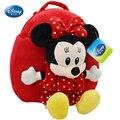 """Disney Minnie Mouse Girls School boy mochila - 10 """" pulgadas de la escuela de la felpa 100% garantía de auténtica calidad"""