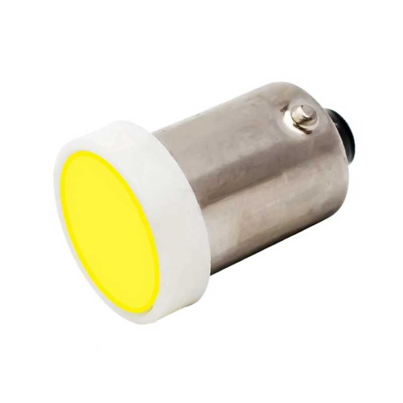 1Pcs BA9S T4W 363 1895 233 COB LED Pure White Car License Plate Light Bulb Auto Interior Reading Dome Lamp Marker Light DC12V