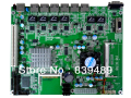 Firewall motherboard D525,with 6 x Intel82574L GLAN,(1U chassis),Mutil LAN,Embedded Industrial Motherboard