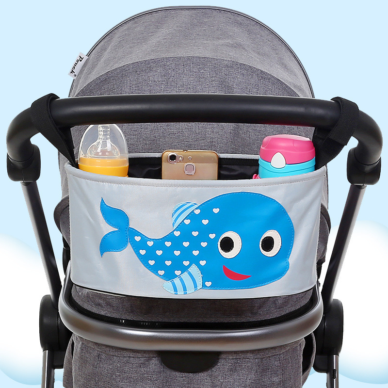 Water Resistance Baby Strollers Organizer Bag Baby Carriage Pram Cart Bottle Diaper Bag Newborn Nappy Stroller Bag