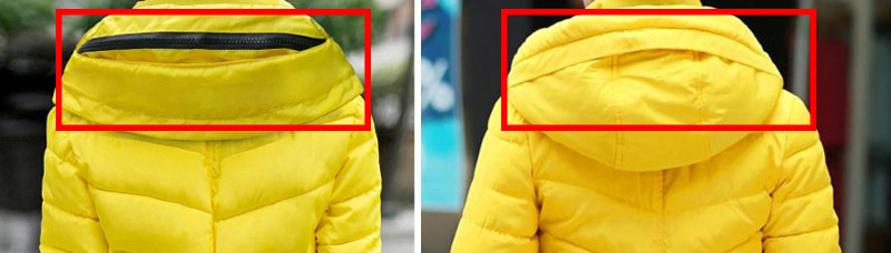 Winter Jacket Women Parkas Thicken Outerwear solid hooded Coats Short 17