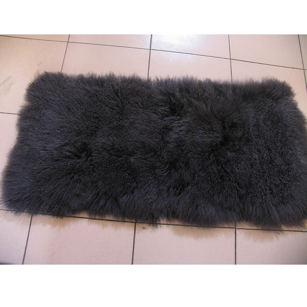 Ms.softex Mongolian lamb fur plate 4