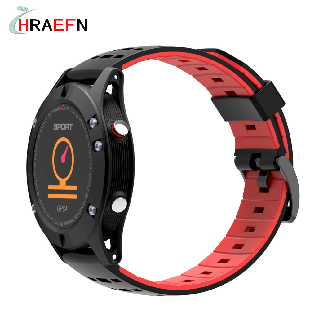 No.1 F5 Smart Watch GPS smartwatch Heart Rate monitor bCall SMS Pedometer Sports Activities Tracker wristwatch for Android IOS 2018 new smart watch sports bracelet cd02 heart rate health monitor pedometer waterproof smartwatch for ios android relogio