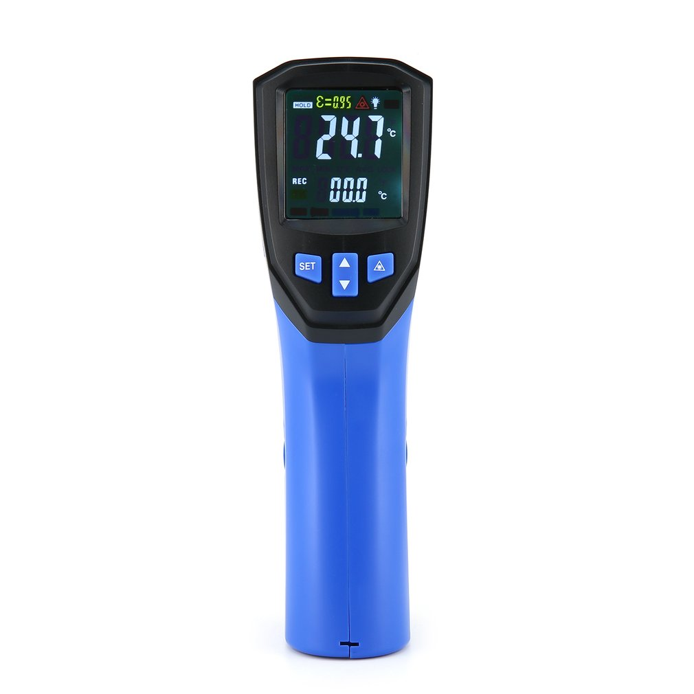 FLUS IR-834 Non-Contact Laser Digital Thermometer Infrared Thermometer Surface Temperature Thermometer Device PyrometerFLUS IR-834 Non-Contact Laser Digital Thermometer Infrared Thermometer Surface Temperature Thermometer Device Pyrometer