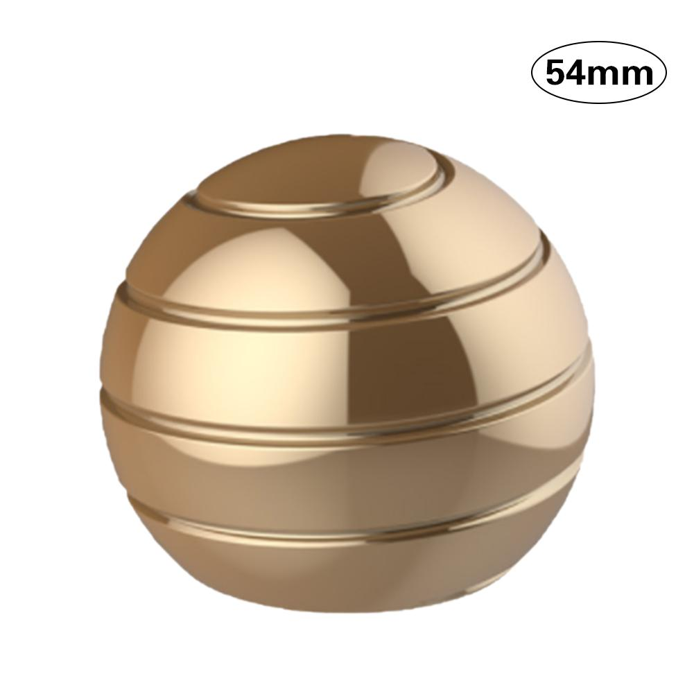 Desktop Decompression Rotating Spherical Gyroscope Kinetic Desk Toy Fidget Toy Optical Illusion Flowing Finger Toy For Adult