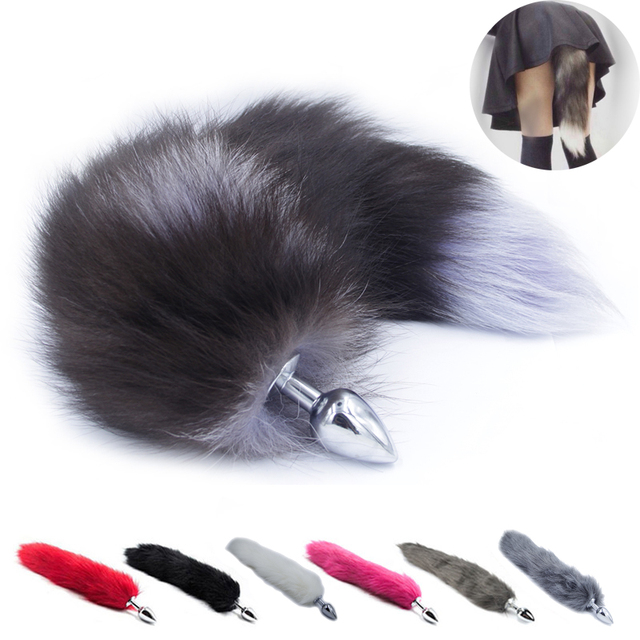 Metal Anal Toys Fox Tail