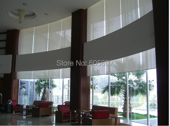 motorized roller blinds, motorized blinds, electirc blinds,